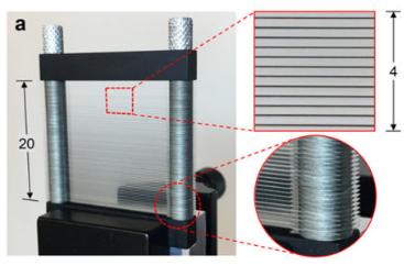 Diseñan un divisor-polarizador para terahercios de bajo coste