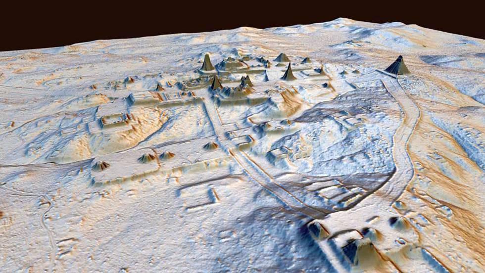 El láser desvela toda la grandeza de la civilización maya
