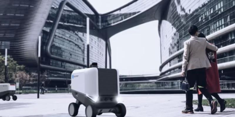 Eliport, el robot que revoluciona el mundo de la mensajería.