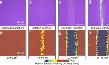 Estudio del procesado láser de grafeno, artículo destacado de 2016