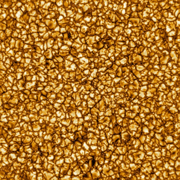 La foto del sol con mayor resolución