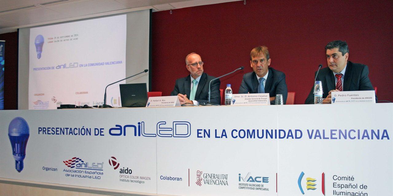 La industria LED analiza el sector de la iluminación en la Comunidad Valenciana