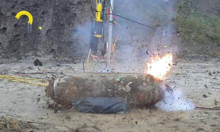 Láseres para desactivación de bombas