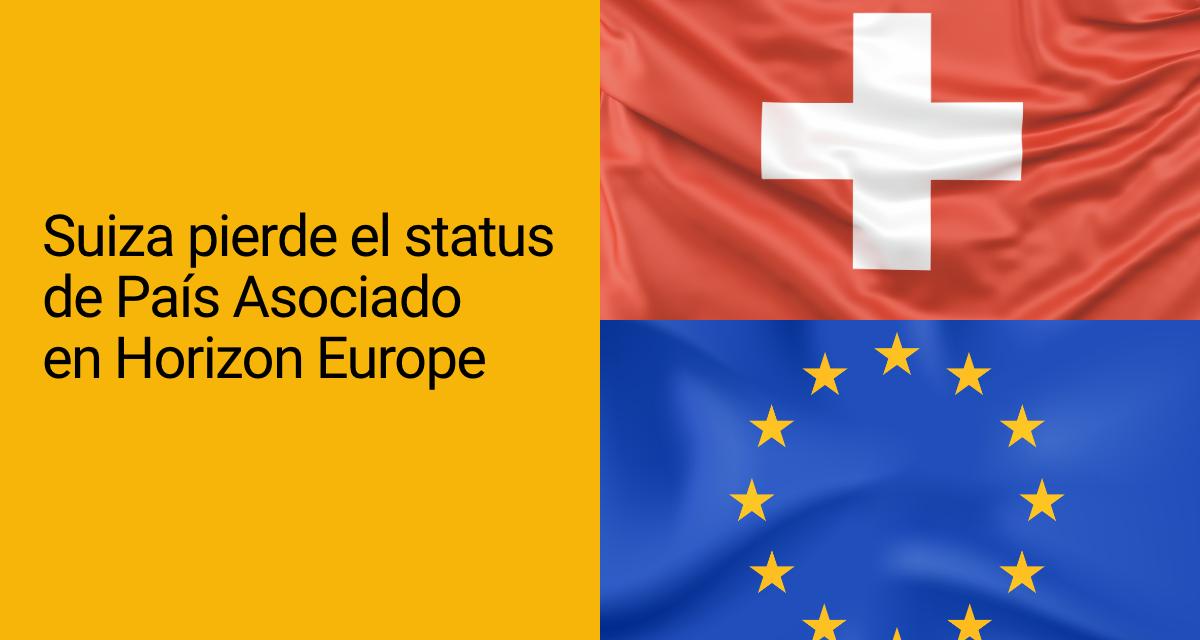 Suiza pierde el status de País Asociado en Horizon Europe