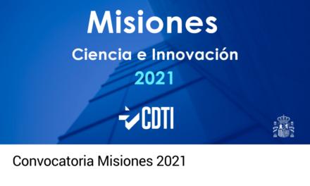 Convocatoria Misiones 2021