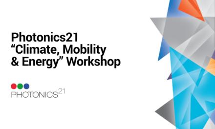 Photonics21 «Climate, Mobility & Energy» Workshop