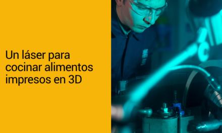 Un láser para cocinar alimentos impresos en 3D