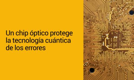 Un chip óptico protege la tecnología cuántica de los errores